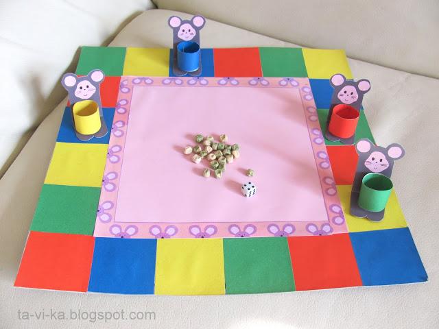 Настольные игры для детей своими руками 5-6 лет