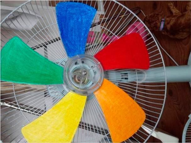 Как сделать вентилятор для кукол