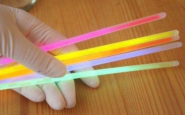 Как сделать светящий палочки