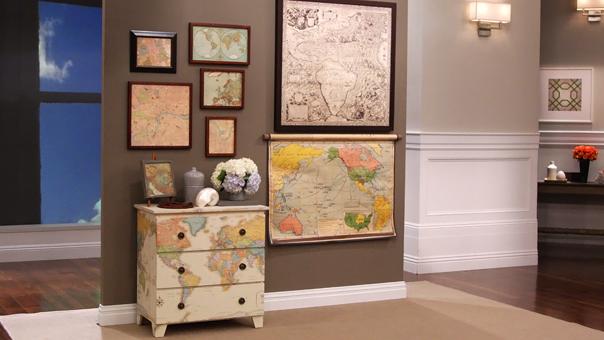 Рисунок на мебели своими руками фото
