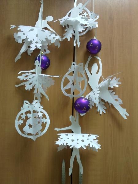 Объемные снежинки на новый год своими руками
