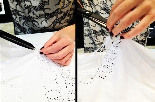 Как сделать креативную футболку своими руками