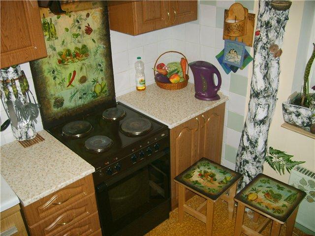 Декупаж мебели своими руками в домашних условиях