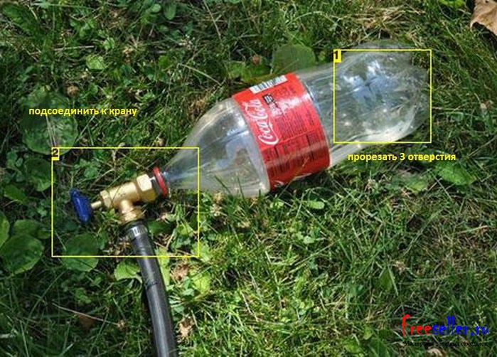Самоделки своими руками для дачи из пластиковых бутылок