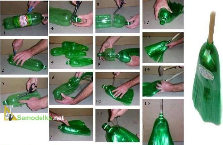 Всё из пластиковых бутылок для дома своими руками