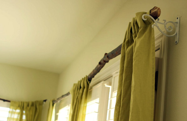 Как сделать карниз для штор своими руками на даче