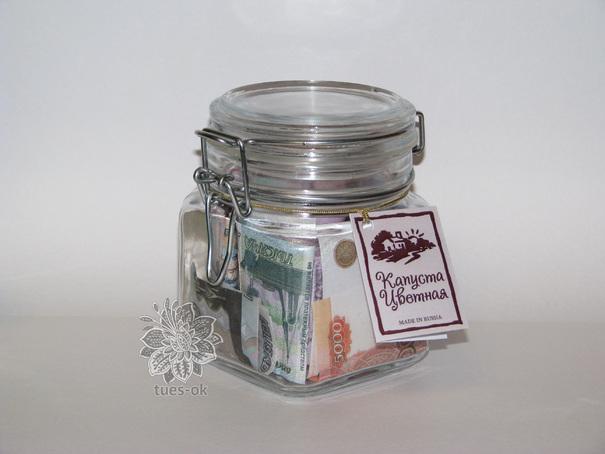 Подарок на свадьбу своими руками банка с деньгами