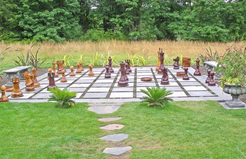 Уличные шахматы своими руками для дачи