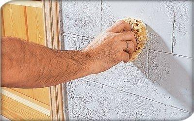 Декоративная штукатурка своими руками фото кирпич