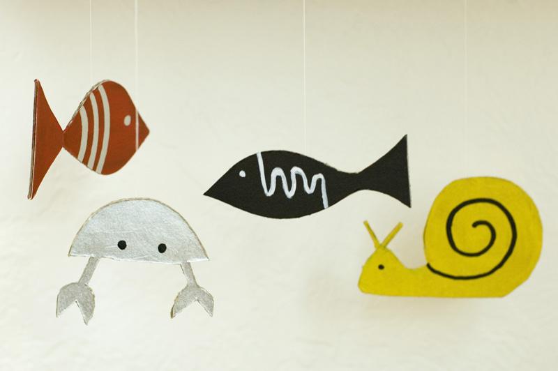 Сделать своими руками из бумаги рыбу