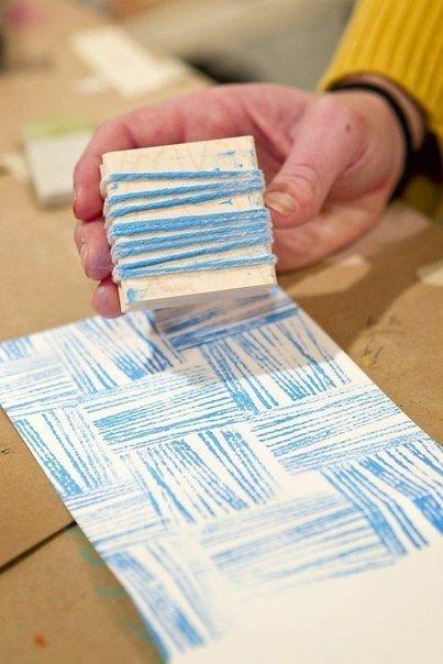 Печать на бумаге своими руками