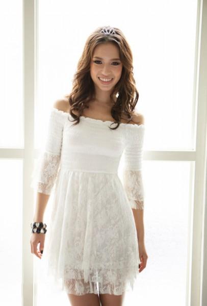 99ed3b01686 Купить женские белые летние платья в интернет магазине. белые платья фото  летние