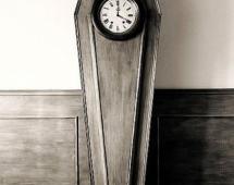 Гроб - часы