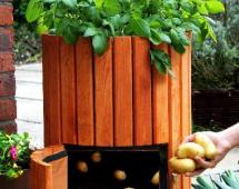 Устройство для выращивания картошки