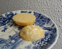 Яйцо с перемешанным желтком