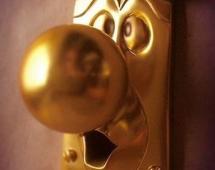 Веселая дверная ручка