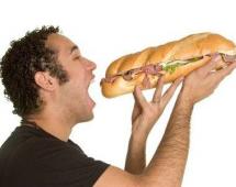 Настоящий мужской бутерброд