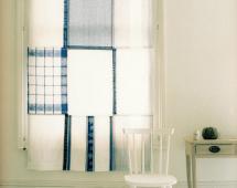 шторы для кухни из полотенец