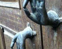 Эзотерические дверные ручки