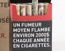 Деньги в пачке сигарет в подарок