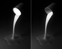 Светильник - ведро с краской