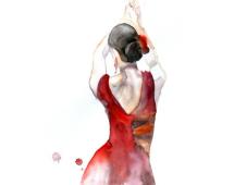 Танцовщица фламенко - Елена Романова