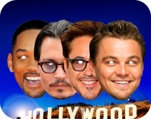 Маски Голливудских звезд