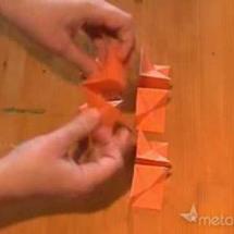 Оригами из бумаги - куб Йошимото