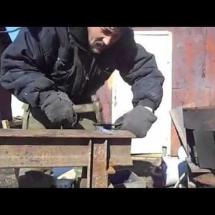 Создание ножа из напильника