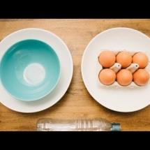 Видео отделения белков от желтков